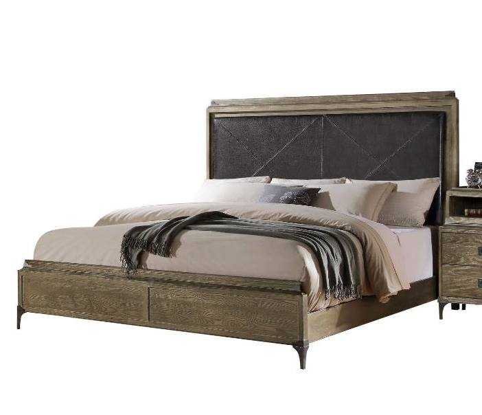 Acme Queen Bed Storage