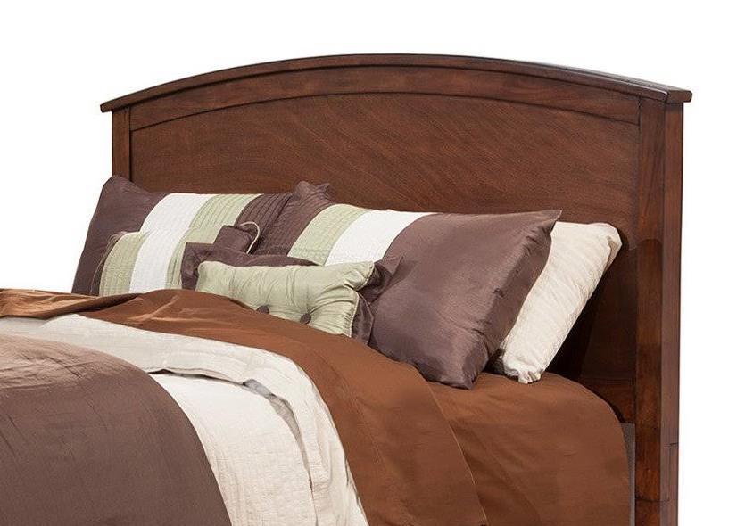 Baker California King Headboard Only in Mahogany Finish - Alpine Furniture 977-07CK-HB