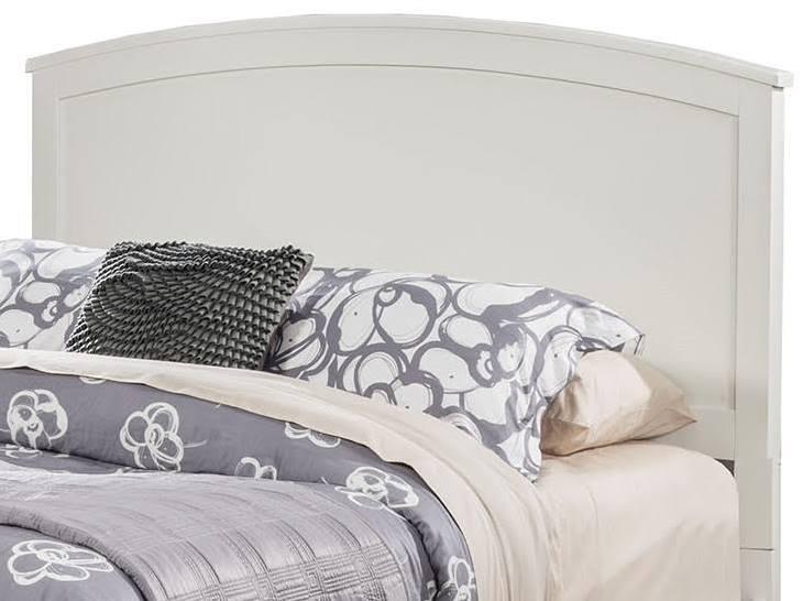 Baker California King Headboard Only in White Finish - Alpine Furniture 977-W-07CK-HB