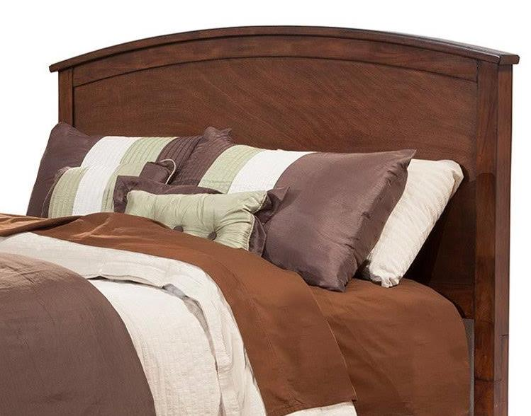 Baker Queen Headboard Only in Mahogany Finish - Alpine Furniture 977-01Q-HB