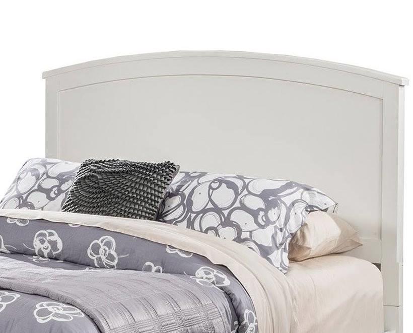 Baker Queen Headboard Only in White Finish - Alpine Furniture 977-W-01Q-HB