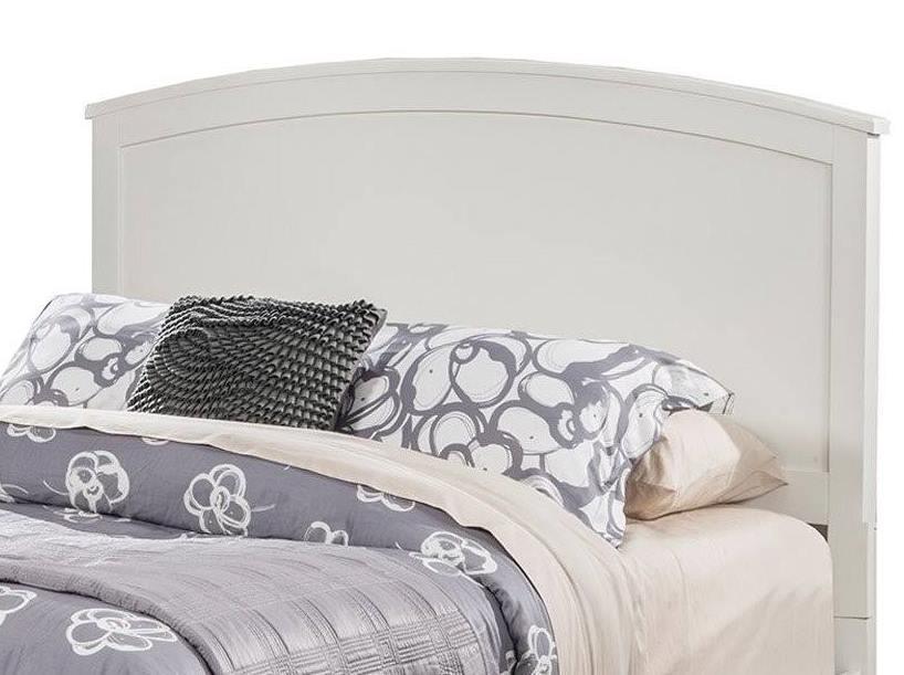 Baker Standard King Headboard Only in White Finish - Alpine Furniture 977-W-07EK-HB