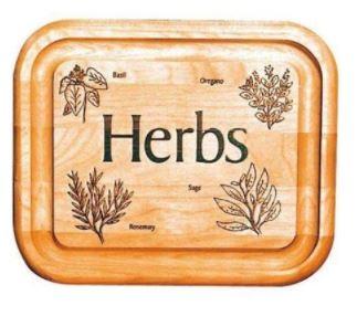 Bar Board w/ Branded Herbs - Single - Catskill Craftsmen 13281