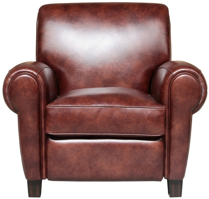 Barcalounger 7-3274 Edwin Recliner in 5702-87 Wenlock Fudge / All Leather