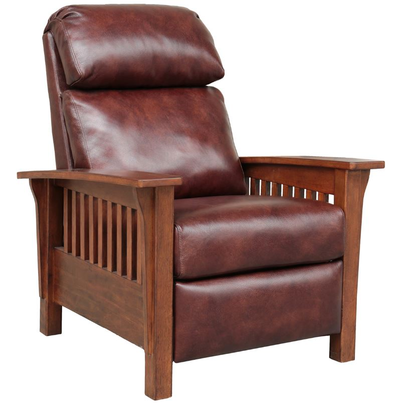 Barcalounger Recliner Wenlock Fudge All Leather
