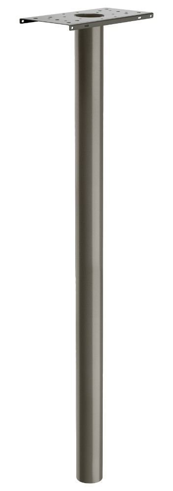 Basic In-Ground Post Graphite Pewter - Architectural Mailboxes 7516Z