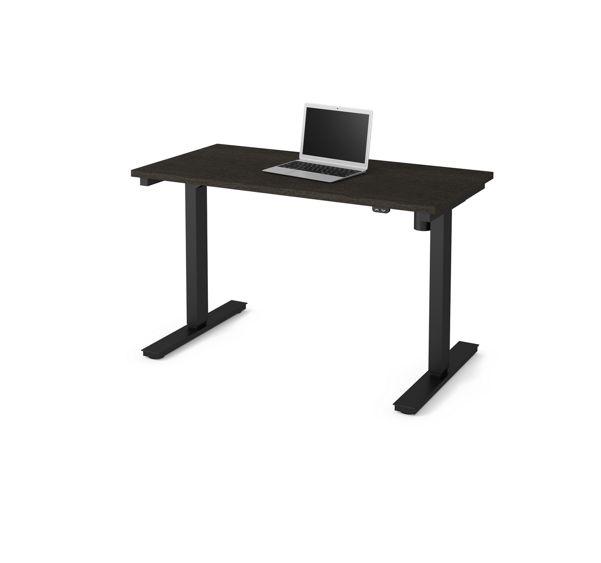 Bestar Electric Height Adjustable Table Deep Gray