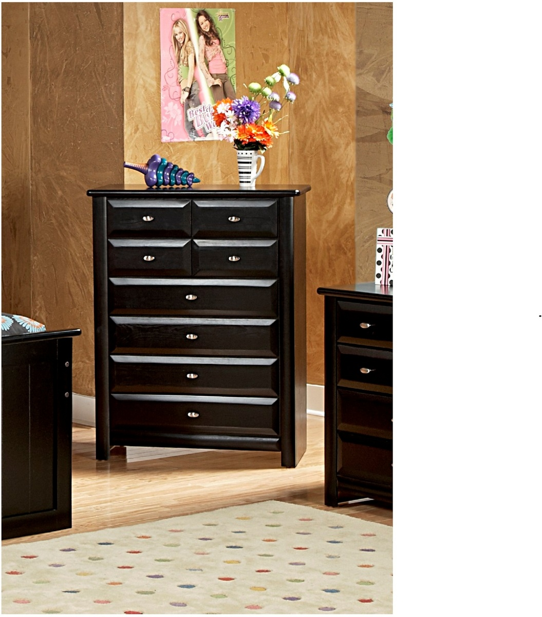 Chelsea Home Black Cherry Drawer Chest