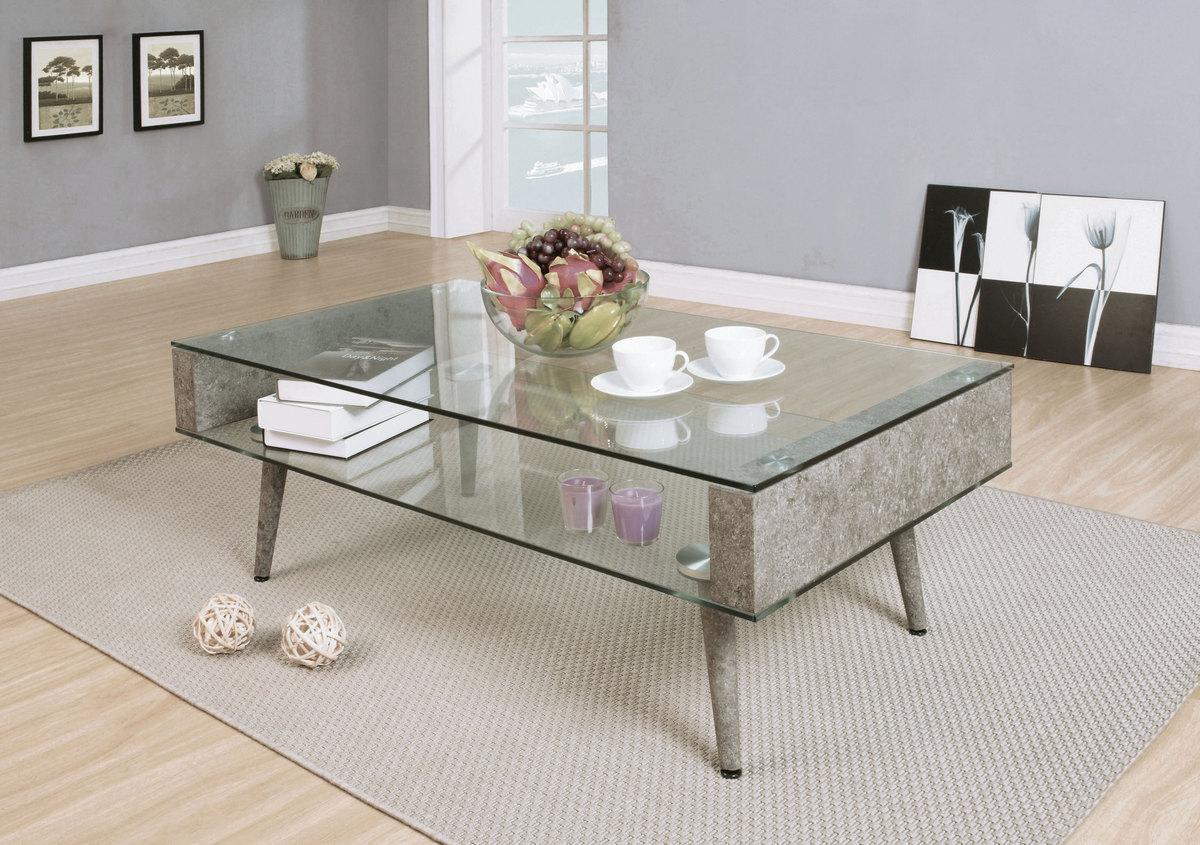 Concrete Clear Gl Acme Furniture 82300