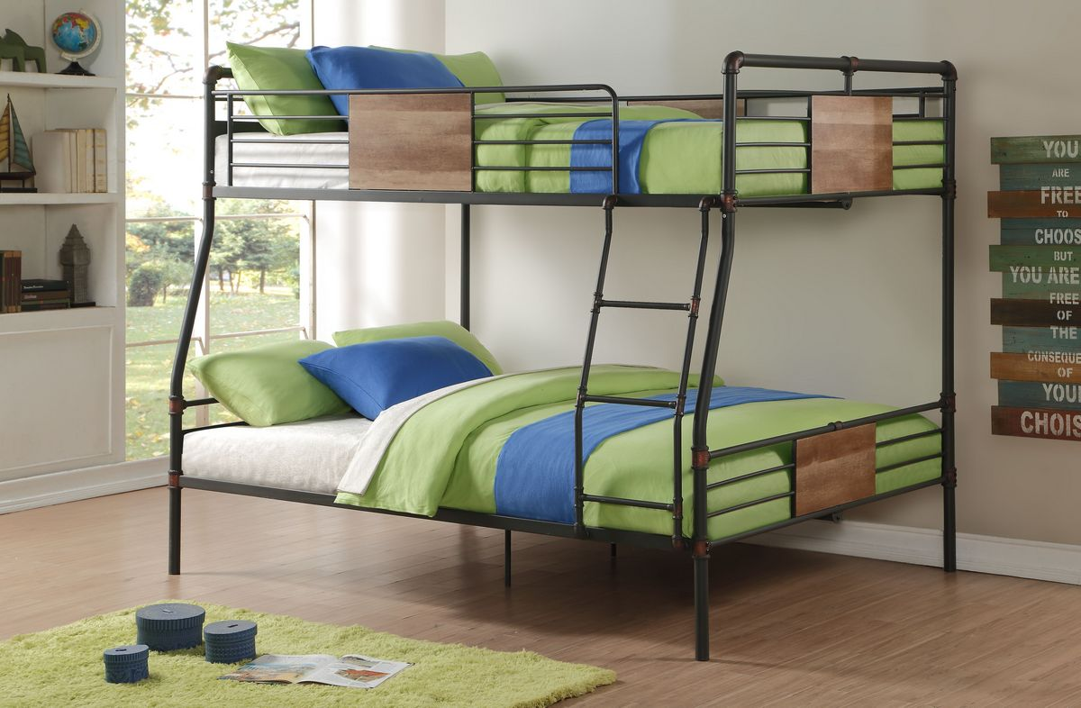 Acme Furniture Queen Bunk Bed Photo