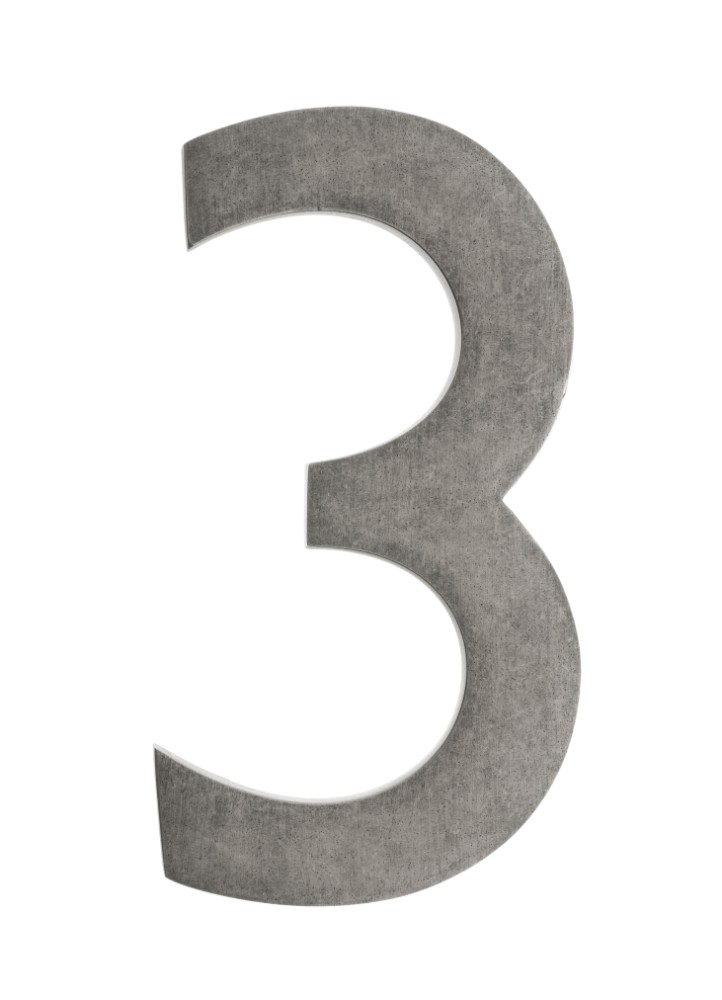 Antique | Number | Float | Brass | House