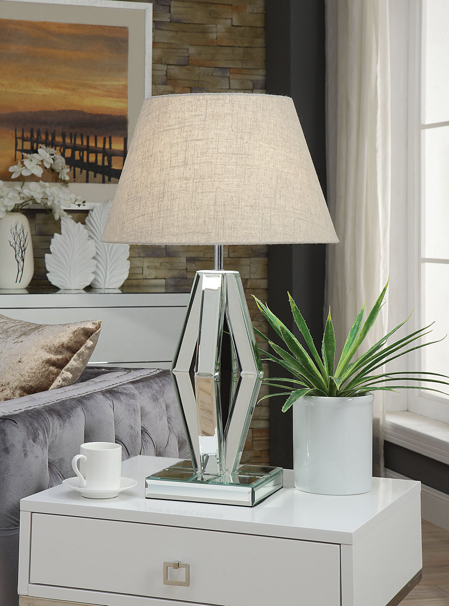 Furniture | Mirror | Chrome | Table | Lamp