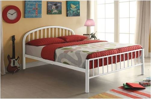 Excellent Cailyn Twin Bed In White Acme Furniture 30460T Wh Pdpeps Interior Chair Design Pdpepsorg