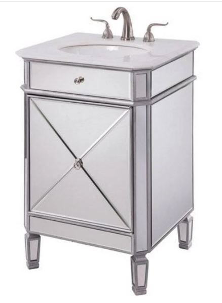 Elegant Lighting Camille Single Bathroom Vanity