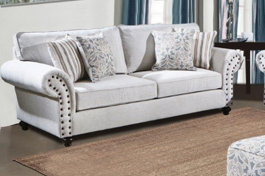 Chelsea Home Camryn Sofa Campbell Snow