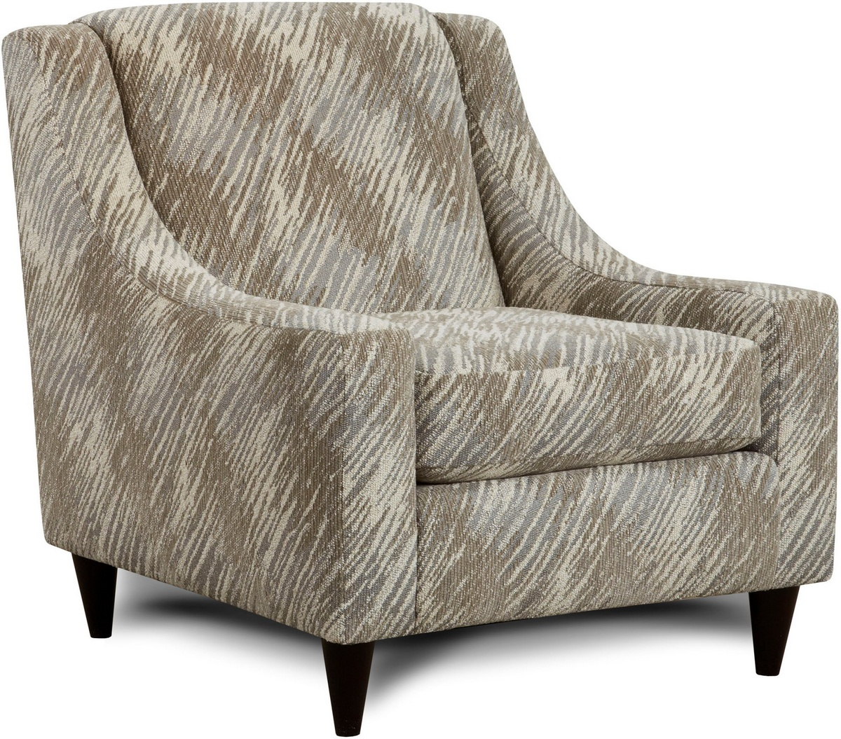 Chelsea Home Candytuft Accent Chair Stone Stone