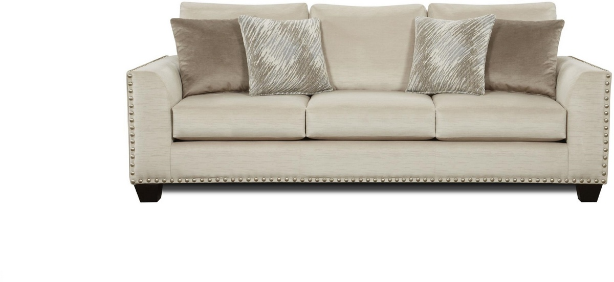 Chelsea Home Candytuft Sofa Stone Stone