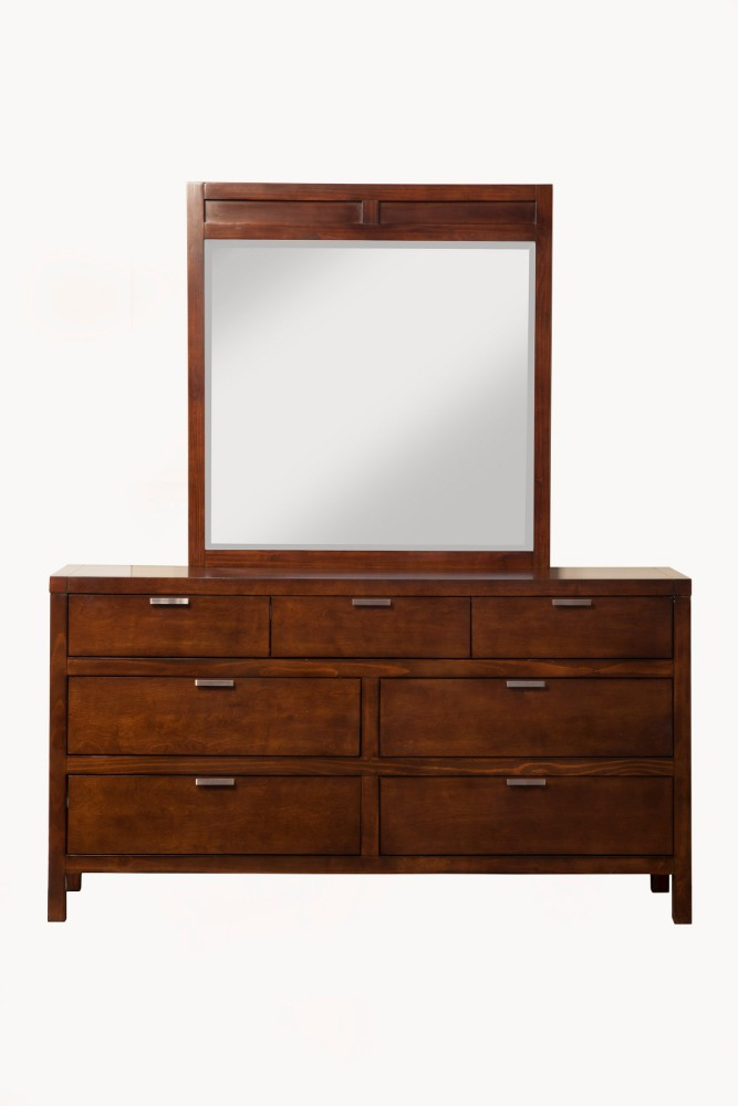 Alpine Carmel Drawer Dresser