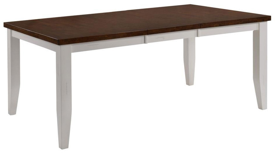 Chelsea Home Dining Table White Cinnamon