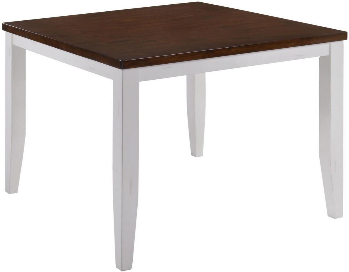 Chelsea Home Gathering Table White Cinnamon