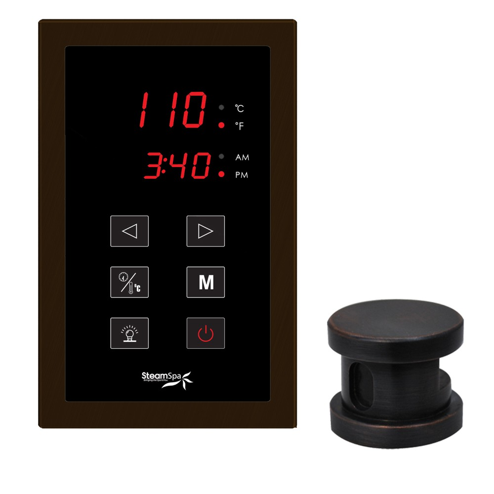 ch Panel Control Kit in Oil Rubbed Bronze - SteamSpa OATPKOB
