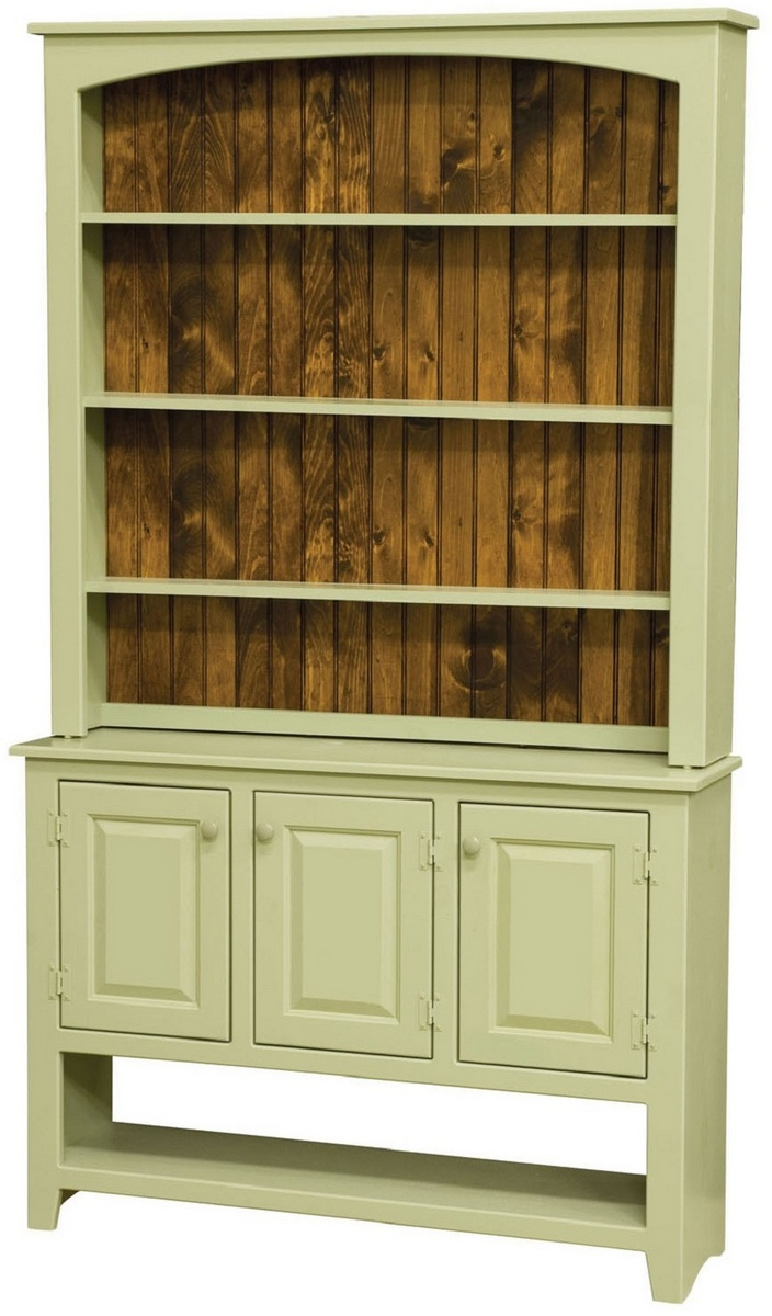Chelsea Home Charity Two Tone Sideboard Hutch