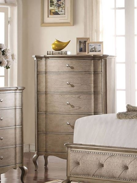Acme Chelmsford Chest Antique Taupe