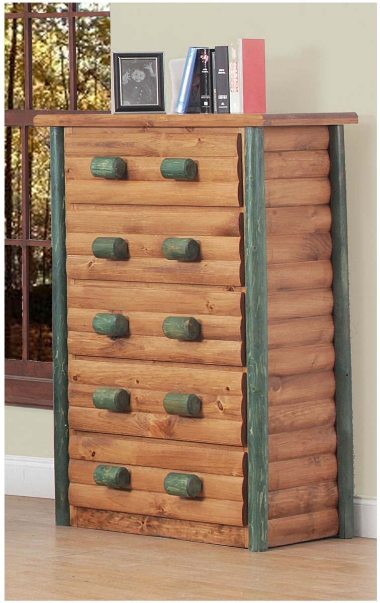 Chelsea Home Cheshire Ranch Drawer Super Chest