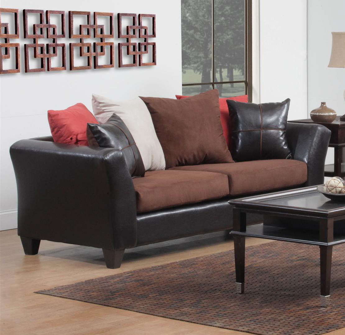 Chelsea Home Sofa Chocolate
