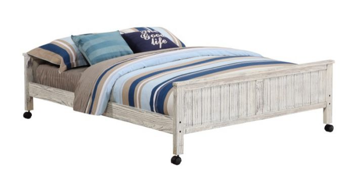 Club House Full Caster Bed - Donco 008FD