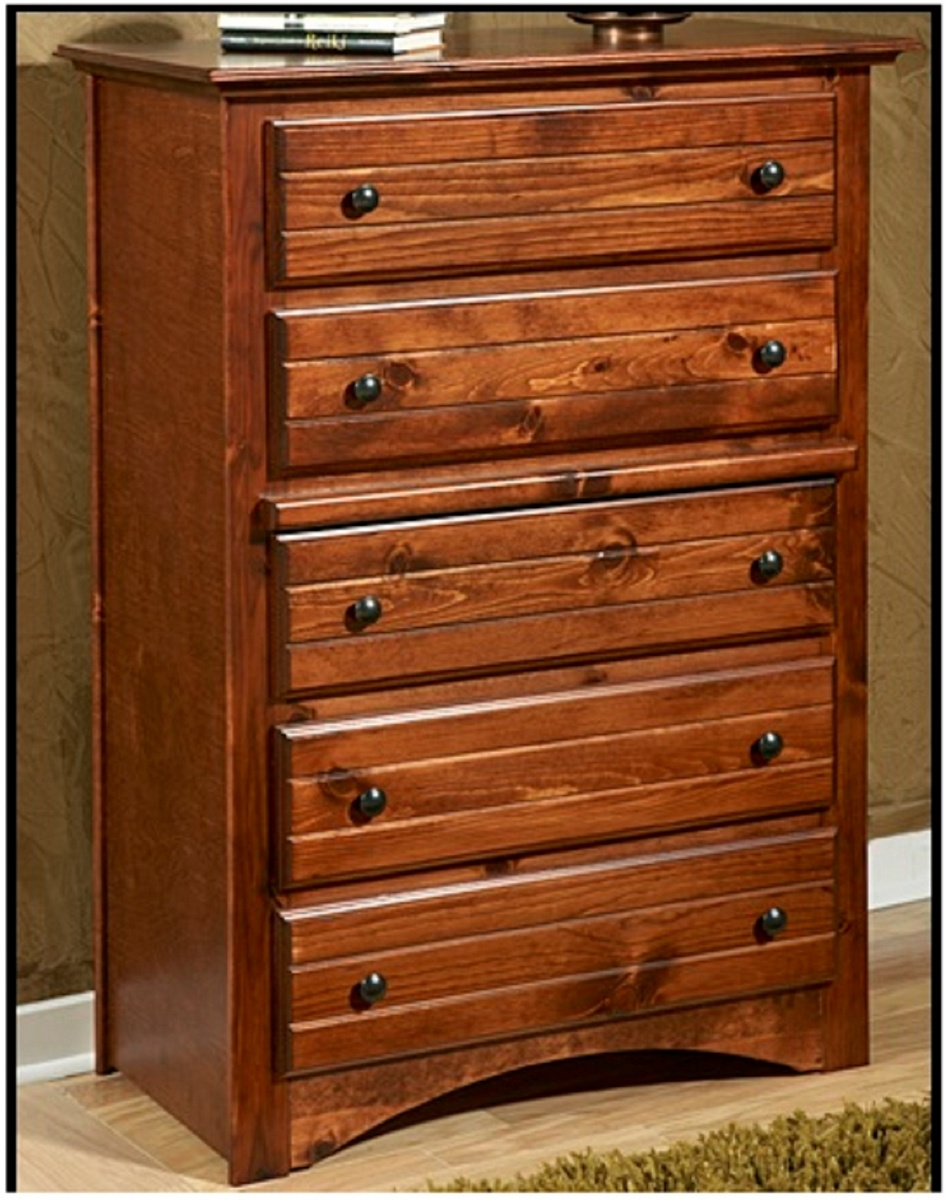 Chelsea Home Cocoa Breeze Drawer Chest