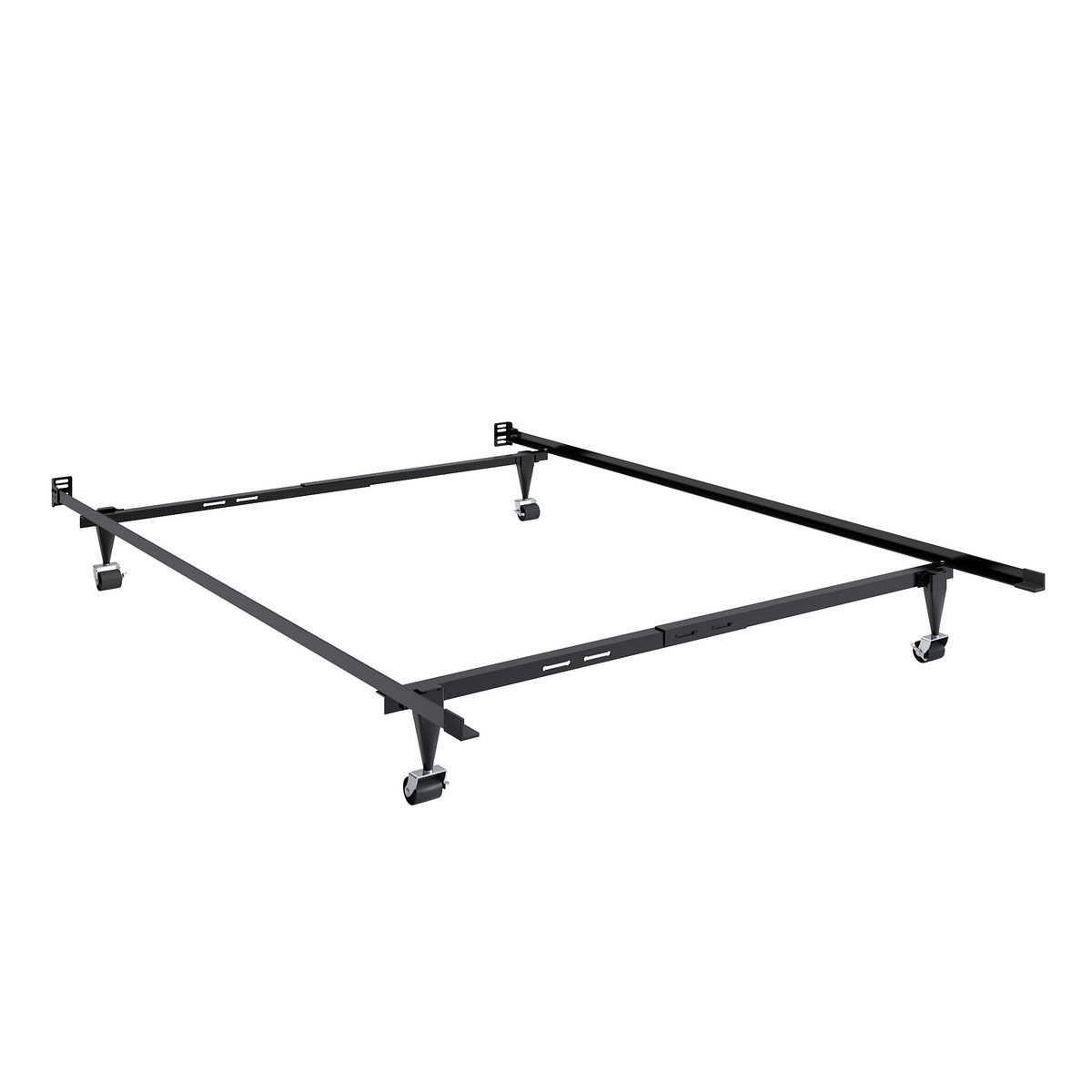 CorLiving BAL-101-F Adjustable Twin/Single or Full/Double Metal Bed Frame