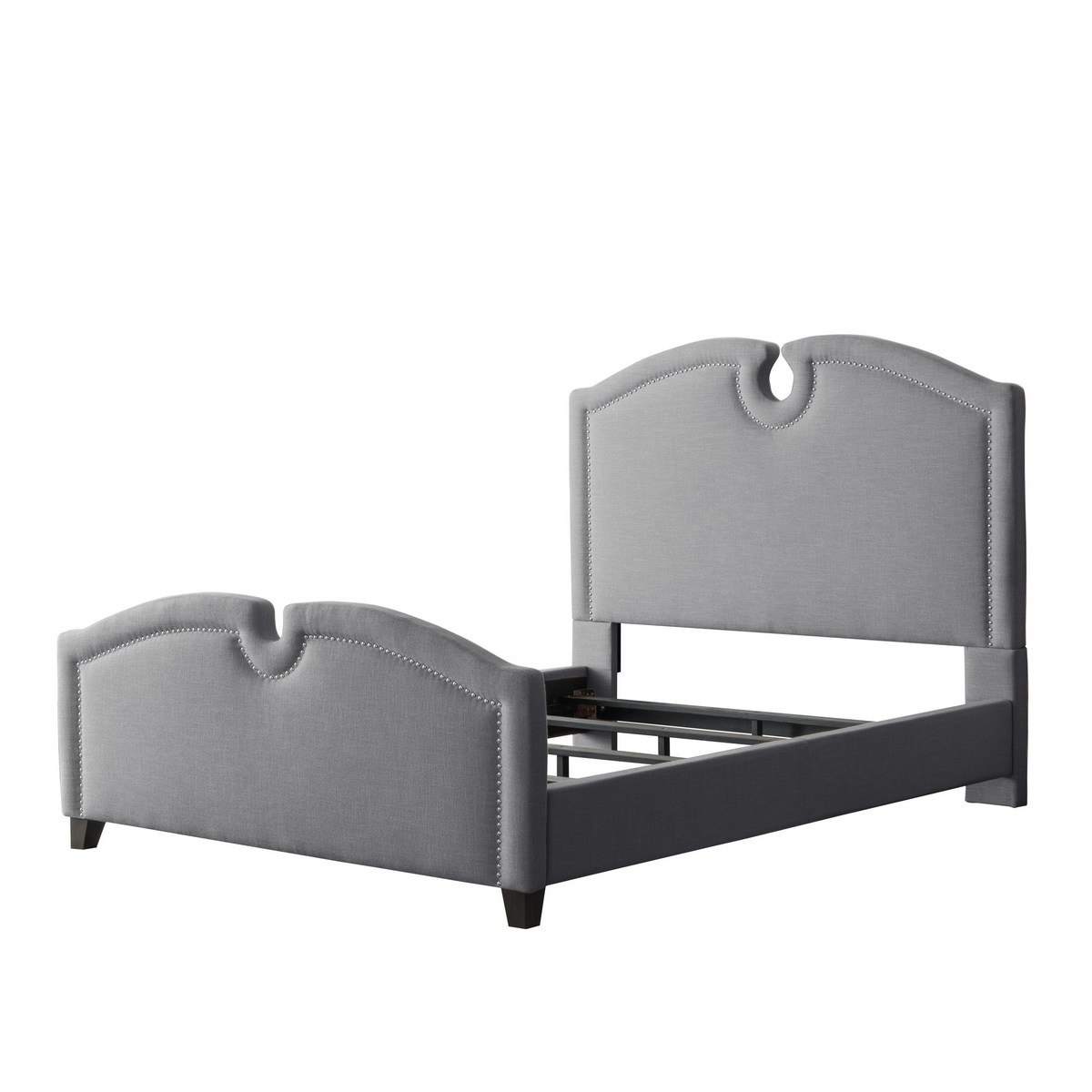 Corliving Furniture Bed Top Curved Double Photo
