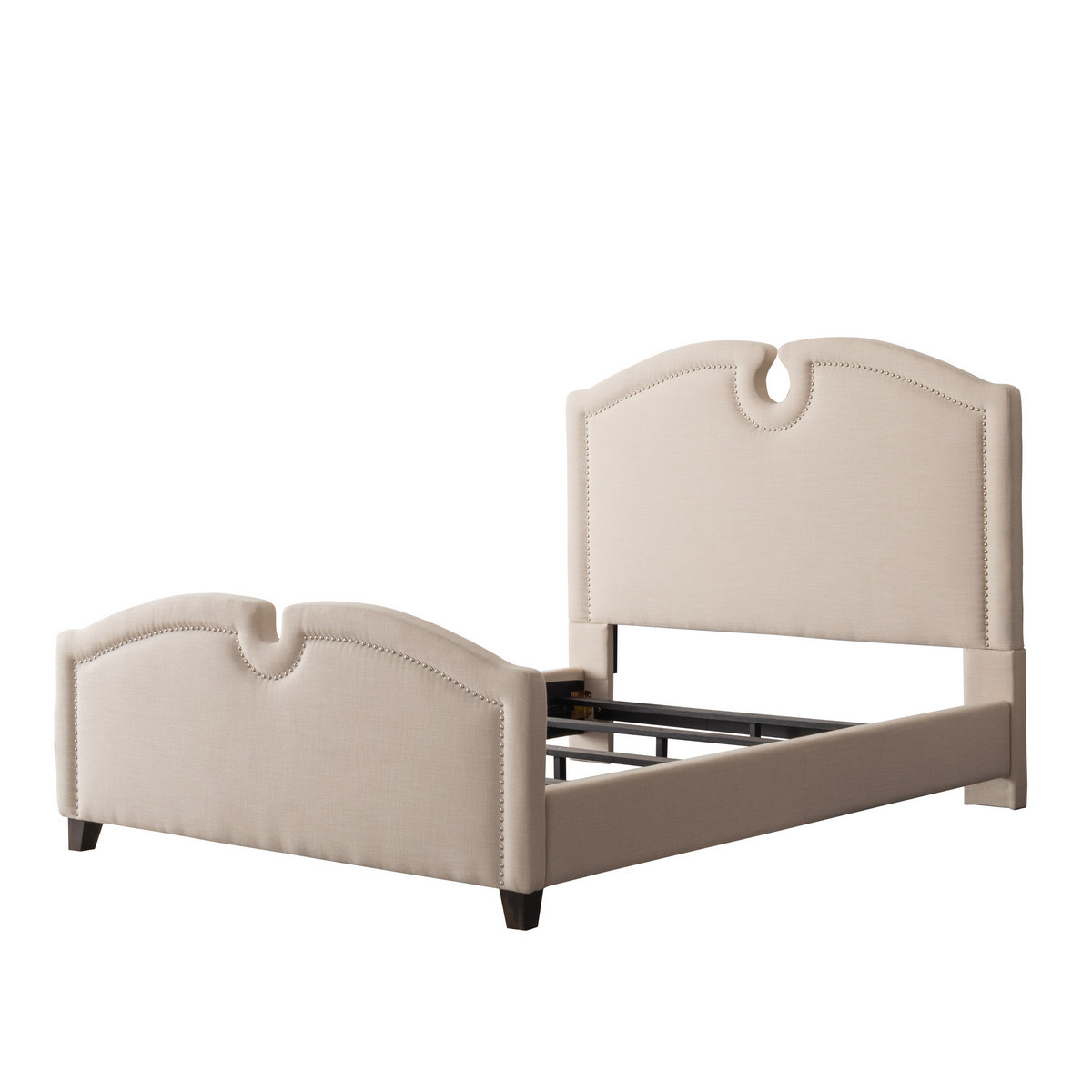 Corliving Bed Top Curved Twin Single