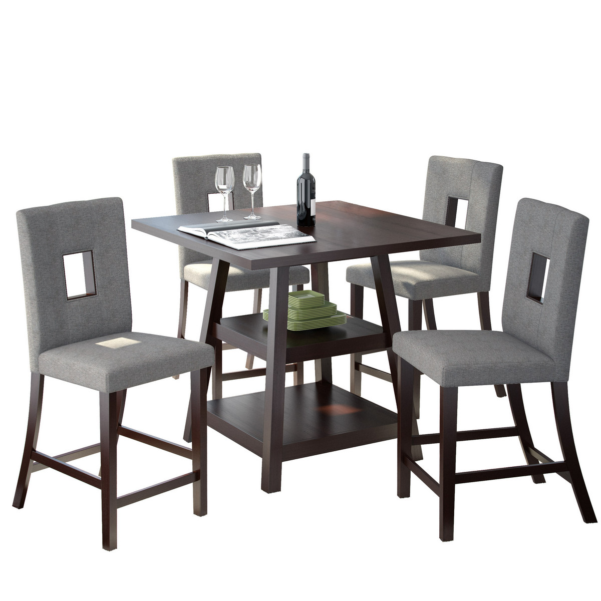 Corliving Bistro Dining Set Counter