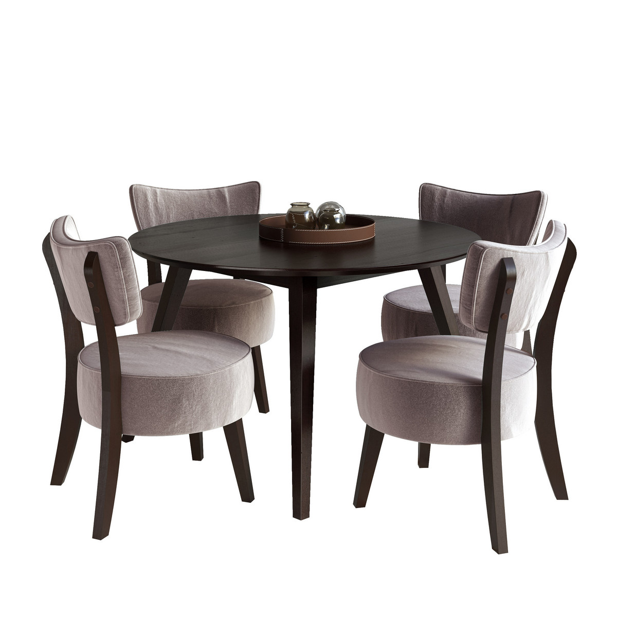 Dining Set Soft Chairs