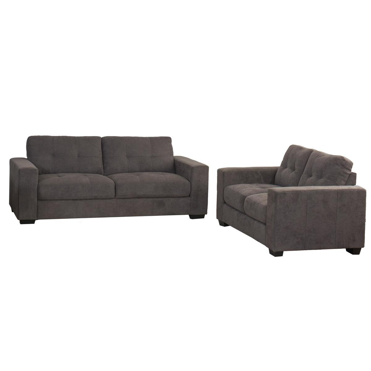 Corliving Tufted Sofa Set