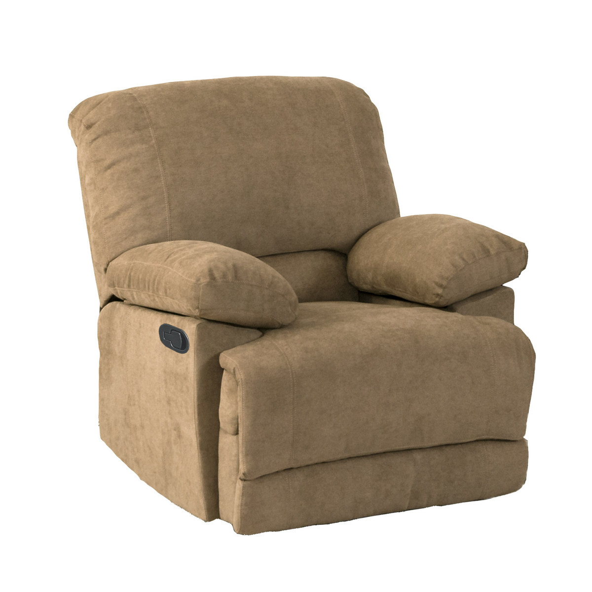 Corliving R Lea Brown Chenille Fabric Recliner