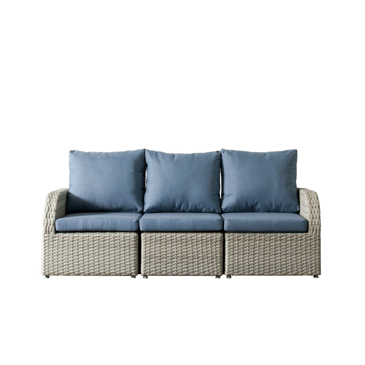 Corliving Pcl Brisbane Weather Resistant Resin Wicker Patio Set