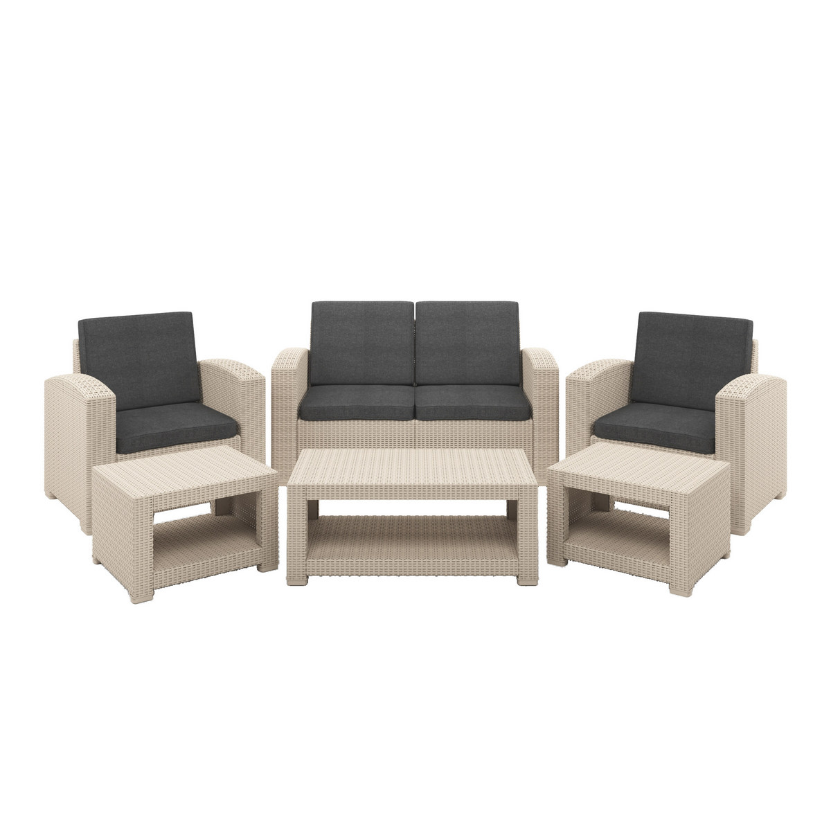 Corliving Patio Set Dark