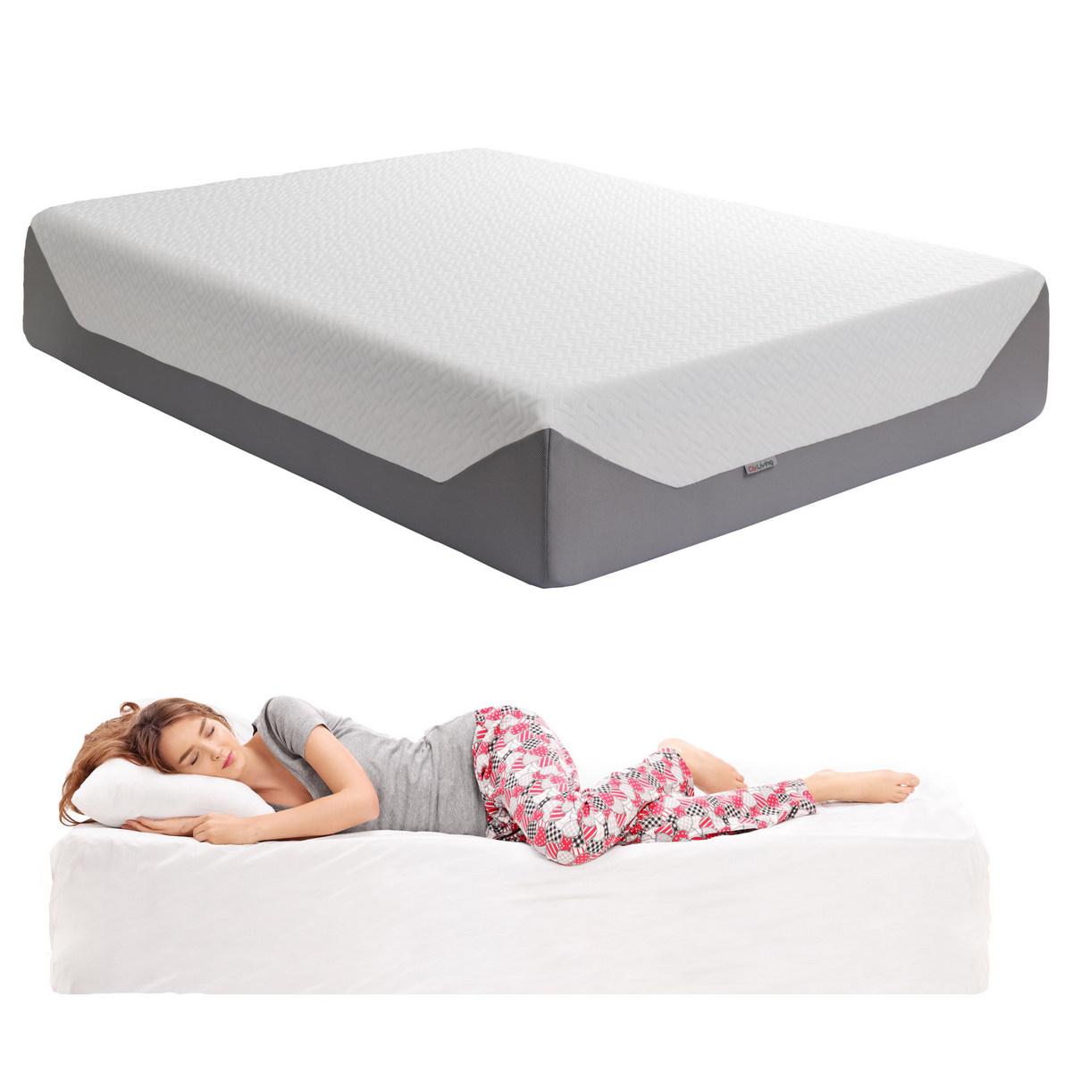 Corliving Sleep Queen Medium Firm Memory Foam Mattress