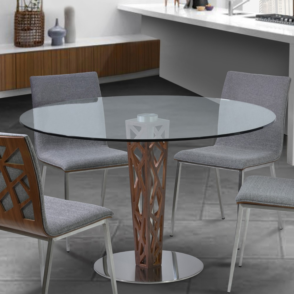 Armen Living Dining Table Round