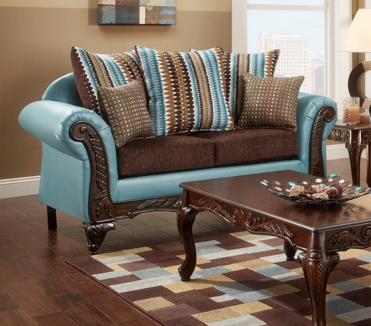 Chelsea Home Dallas Loveseat