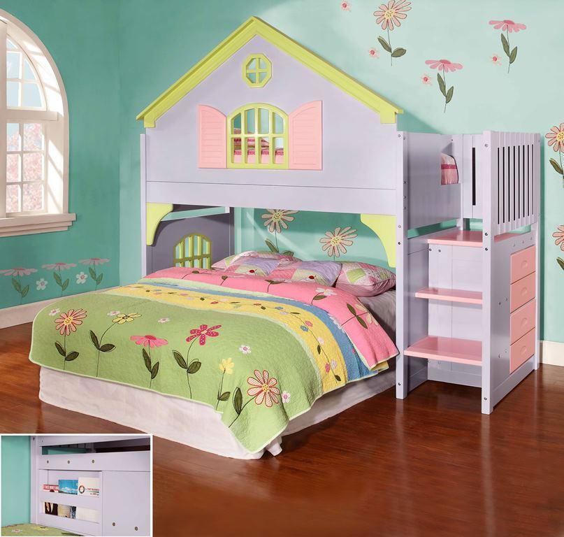 Doll House Stair Step Loft - Donco 0300