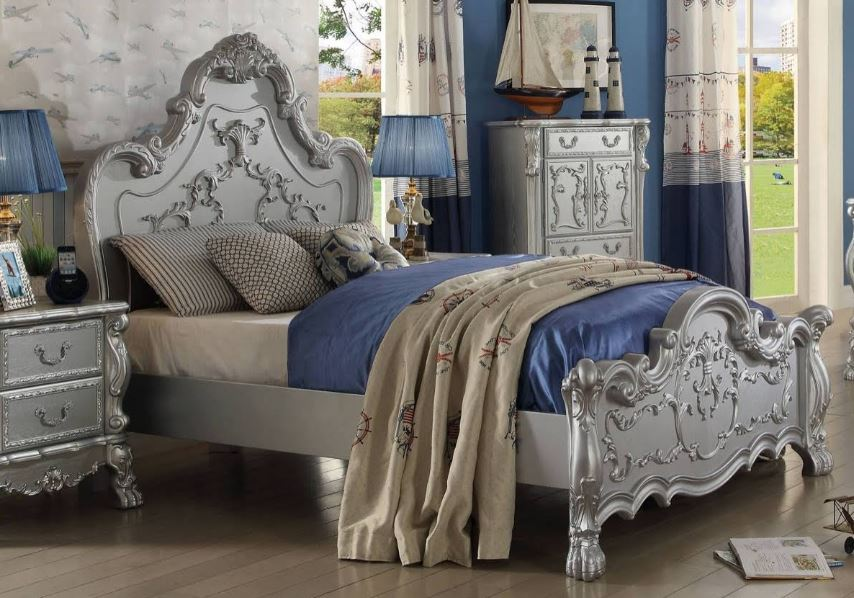 Acme Full Bed Silver