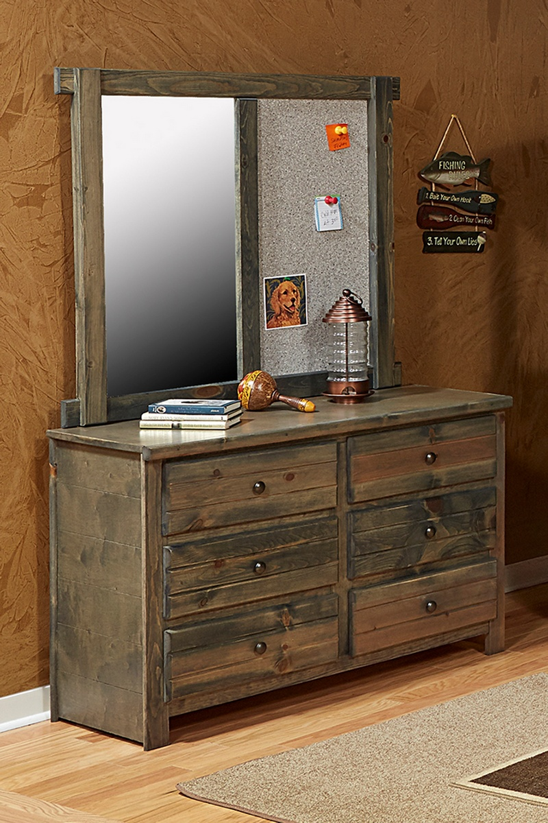 Chelsea Home Dresser Mirror Drawer