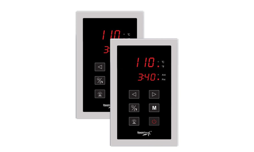 Steamspa Dual Touch Panel Control System