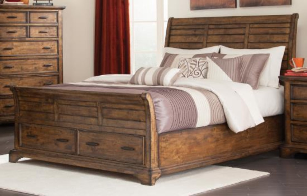 Coaster Elk Grove Rustic Queen Bed
