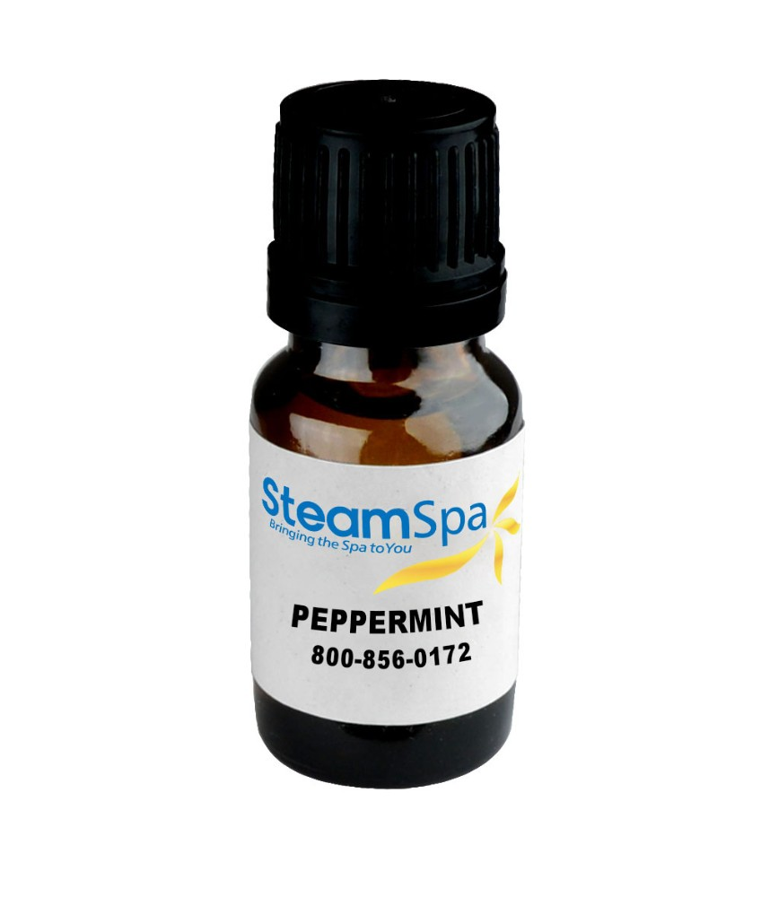 Essence of Peppermint Aromatherapy Oil Extract - SteamSpa G-OILPEP