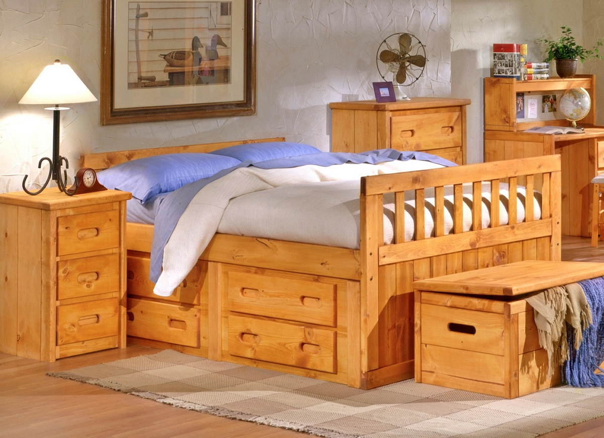 Chelsea Home Bed Storage